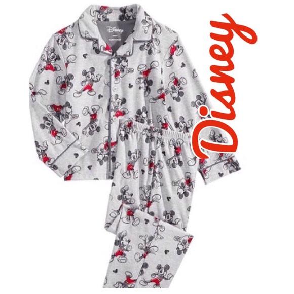 Disney Pajamas | Nwt Mickey Mouse 2pc Toddler Boys Pajama Set | Poshmark